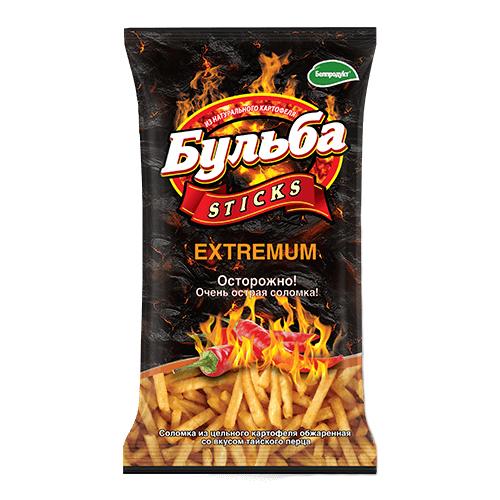 """Соломка з натуральної картоплі """"EXTREMUM тайський перець"""" 0.75гр."""