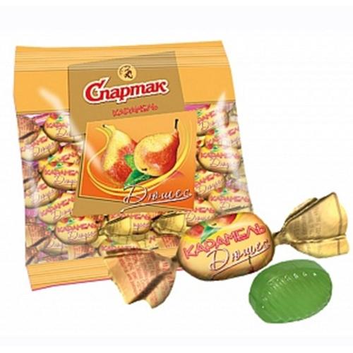 Карамель со вкусом груши Дюшес 3 кг