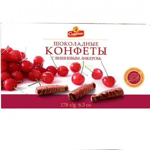 Цукерки шоколадні з вишневим лікером 178 г
