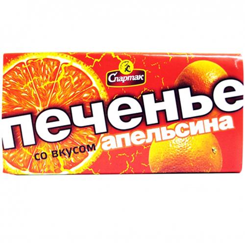 Печенье со вкусом апельсина 90 г