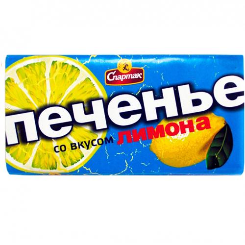 Печенье со вкусом лимона 90 г