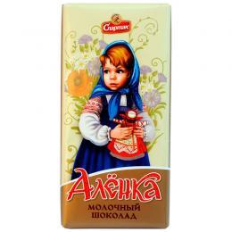 """Шоколад молочный """"АЛЕНКА"""" 90 г"""