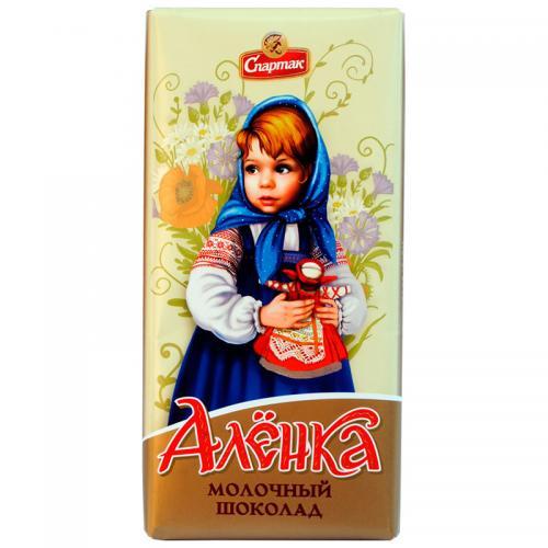 """Шоколад молочний """"ОЛЕНКА"""" 90 г"""