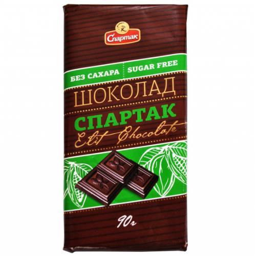 Шоколад гіркий без додавання цукру 90 г