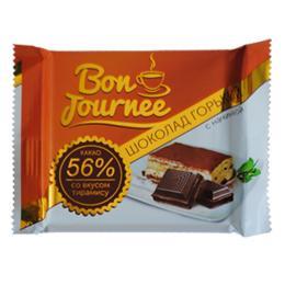 """Шоколад """"Bon Journee"""" горький с начинкой со вкусом тирамису 80 г"""
