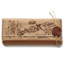"""Шоколад """"ГІРКИЙ-ЕЛІТНИЙ 90%"""" 500 г"""