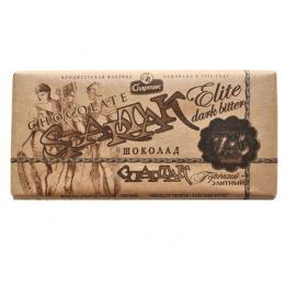"""Шоколад """"ГІРКИЙ - ЕЛІТНИЙ 72%"""" 90 г"""