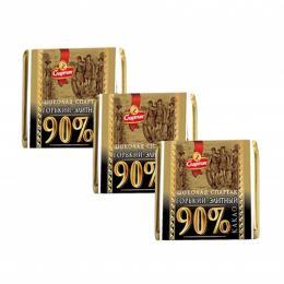 """Шоколад """"ГІРКИЙ-ЕЛІТНИЙ 90%"""" 1.2 кг"""