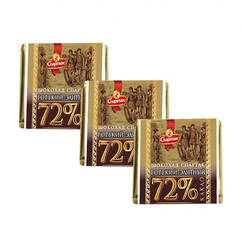 """Шоколад """"ГОРЬКИЙ-ЭЛИТНЫЙ 72%"""" 1.2 кг"""