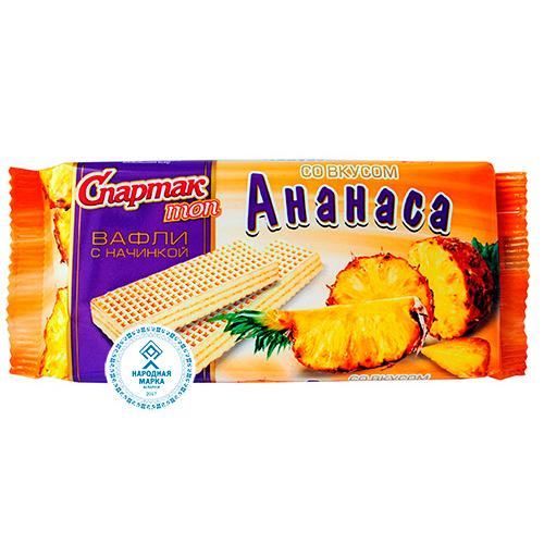 """""""СПАРТАК ТОП"""" со вкусом ананаса"""
