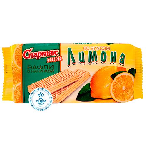 """""""СПАРТАК ТОП"""" со вкусом лимона"""